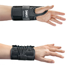 Wrist Splint. For optimal stabilization of the athlete's wrist.