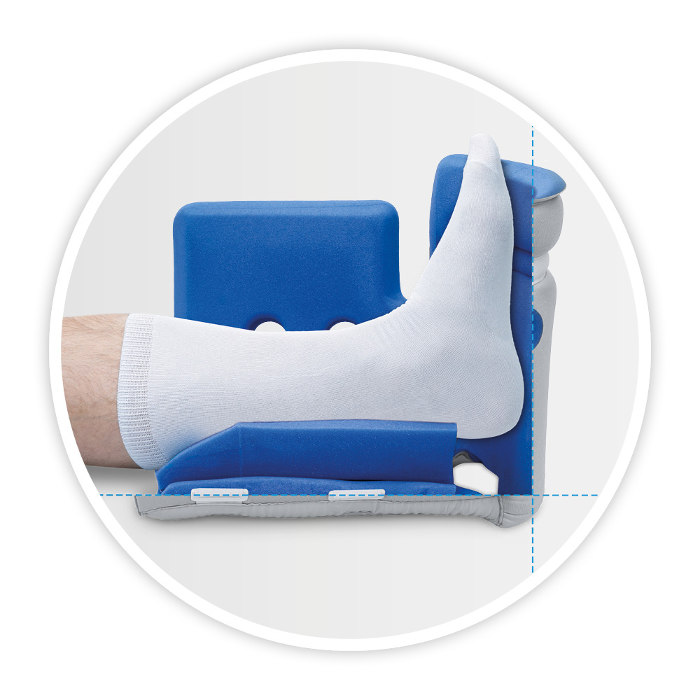 Prevention and healing of heel pressure ulcers as well as diabetic foot syndrome and decubitus - Body Armor Heel Reliever