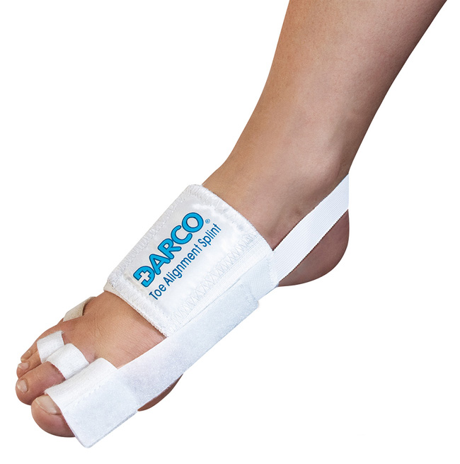 TAS Toe Alignment Splint - Bandage for toe alignment after surgery
