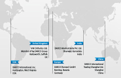 DARCO Worldwide: USA, Europe, UK, India, China