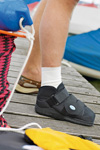 APB All Purpose Boot. Shock absorbing effect with postoperative immobilising bandages