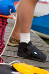 MedSurg Postoperative Shoe in use with ToeCap