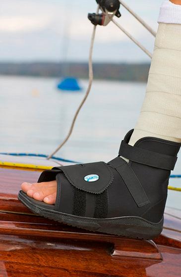 Trauma Care - SlimLine Cast Boot  Used over a fiberglass- or