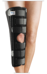 MECRON Straight Knee Brace - Conservative management of collateral ligament lesions