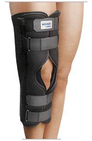 Immobilization of the knee for meniscal defects, etc. - Post-traumatic / post-operative immobilization